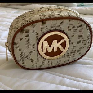 Michael Kors travel makeup case